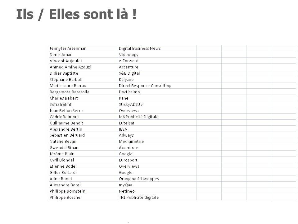 3 Participez en twittant #NETINEO Ils / Elles sont là ! Jennyfer Aizenman (Digital Business News), Denis Amar (Videology), Vincent Aujoulet (e.Forward