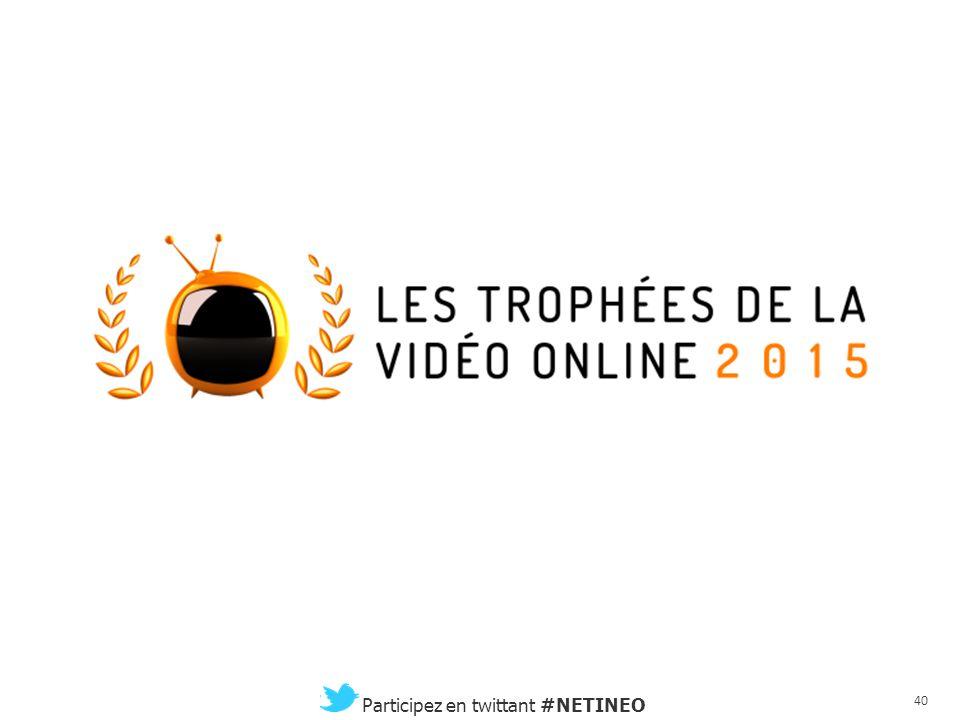 39 Participez en twittant #NETINEO Conclusion et prochains rendez-vous Philippe Bornstein CEO