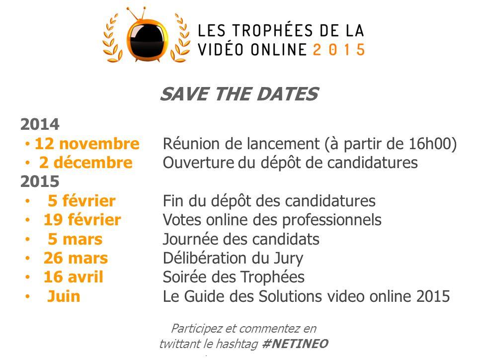 4 Participez en twittant #NETINEO Ils / Elles sont là !