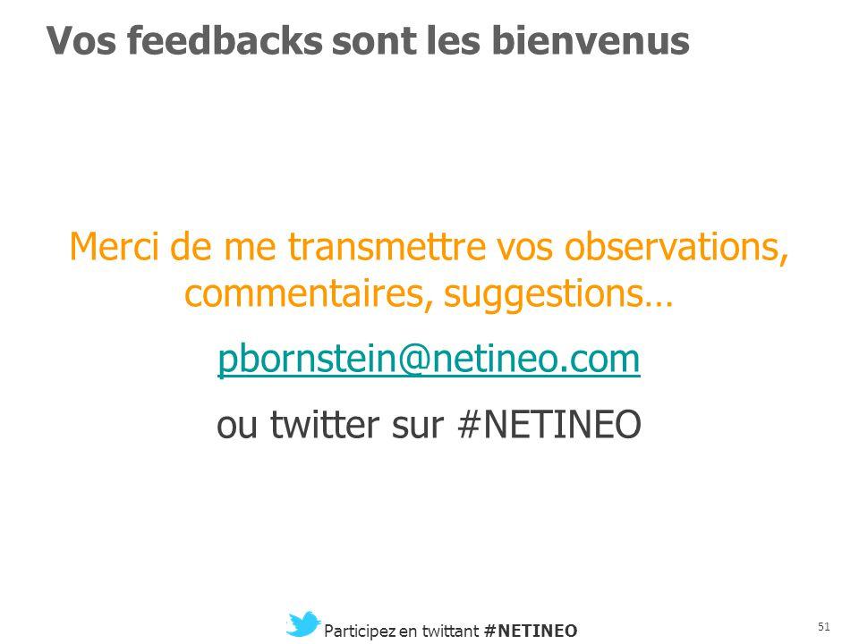 50 Participez en twittant #NETINEO Chronomédia ou le choc des temporalités 1.Comment assurer l'articulation de plusieurs médias aux temporalités concu