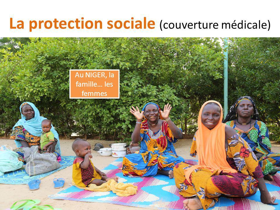 La protection sociale (couverture médicale) Au NIGER, la famille… les femmes