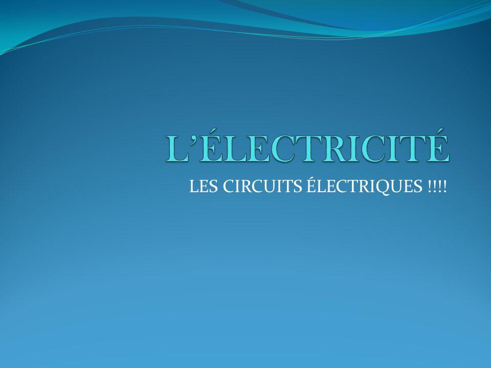 LES CIRCUITS ÉLECTRIQUES !!!!