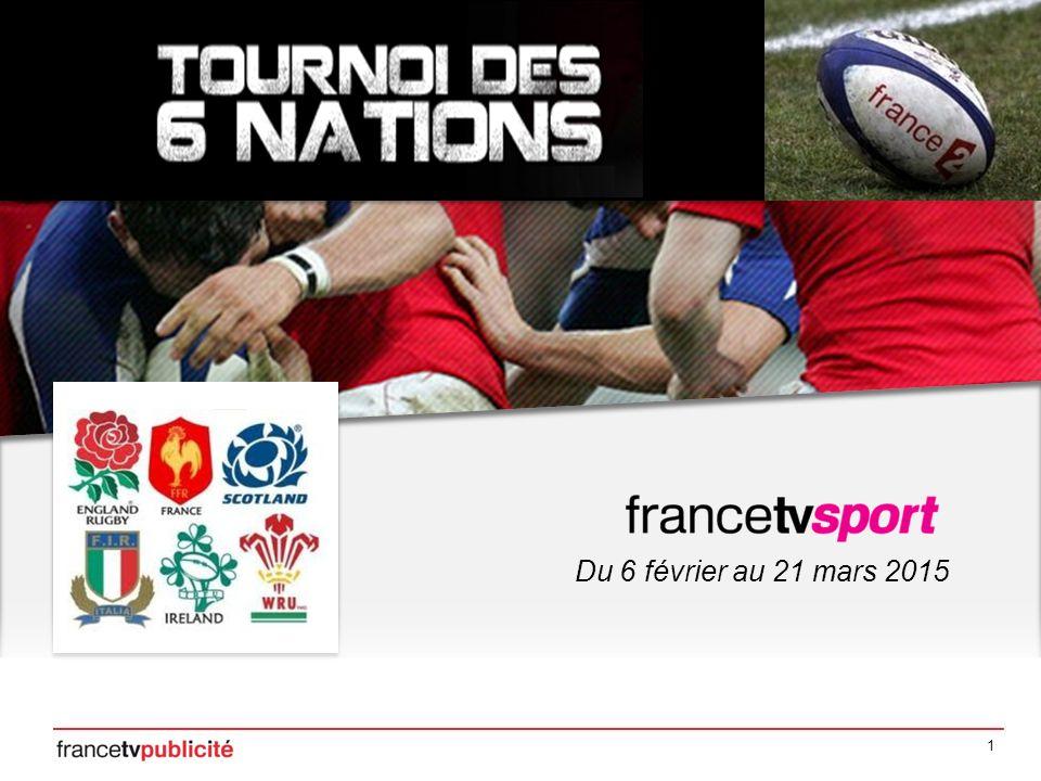 2 Bilan du Tournoi des VI Nations 2014 Du 1 er février au 15 mars 2014