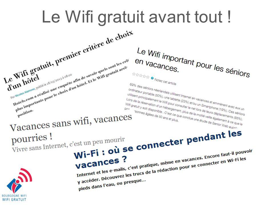 Un export gratuit des mails utilisateurs Pourquoi le WIFI territorial?