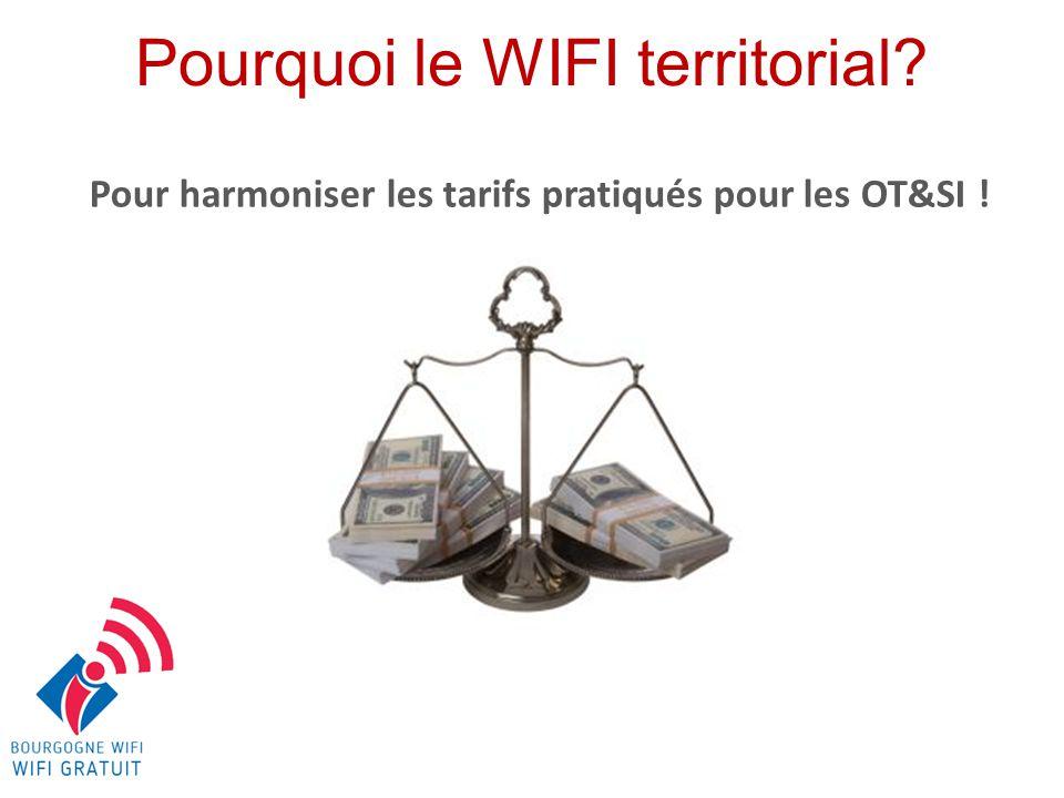 Pour vous proposer une borne Hotspot et un abonnement au meilleur tarif Pourquoi le WIFI territorial?
