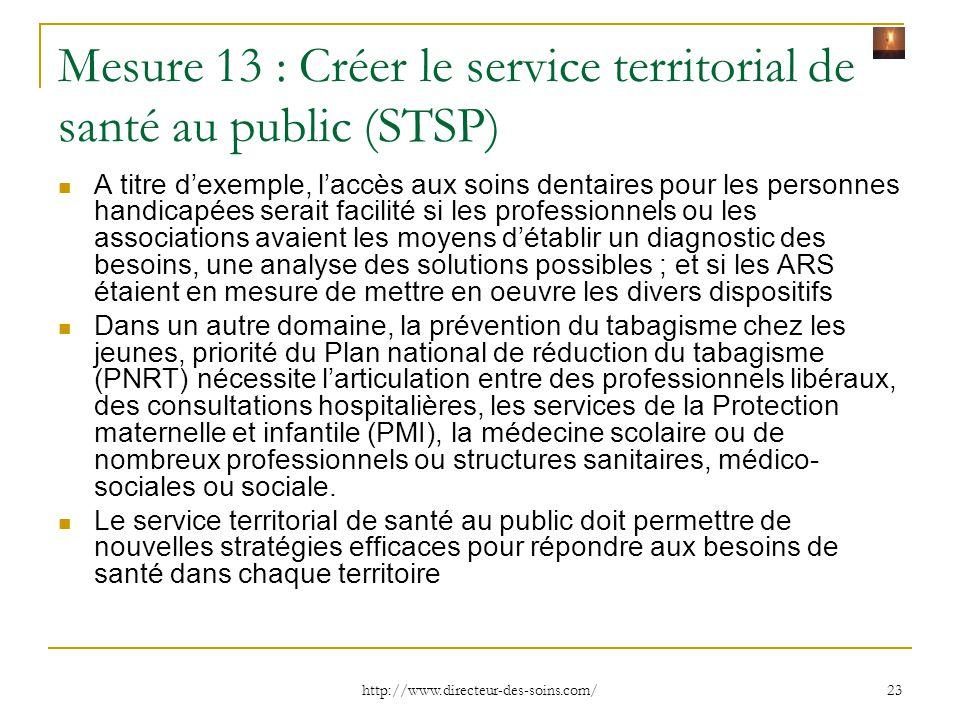 http://www.directeur-des-soins.com/ 24 Mesure 14 : Permettre aux professionnels de mieux coordonner le parcours de leur patient Pour qu'à chaque étape de la prise en charge, les professionnels et les patients (notamment ceux atteints de pathologies chroniques) aient accès à l'ensemble de l'information médicale, ce projet de loi relance le « Dossier médical partagé » (DMP) L'Assurance maladie aura la responsabilité de le déployer Le « DMP » est librement accessible par le patient, à tout moment, et lui garantit un droit de masquage des informations qu'il ne souhaite pas y voir figurer Pour les professionnels, le « DMP » est l'outil de communication qui permet de suivre un patient de manière coordonnée tout au long de sa prise en charge La remise d'une « lettre de liaison » entre l'hôpital et la ville, pour que le médecin, l'infirmière ou le pharmacien sache comment prendre le relais des équipes hospitalières, sera rendue obligatoire