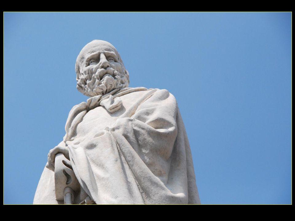 Le premier monument des 420 monuments de part le Monde en mémoire de Garibaldi, car sur les autres monuments il est représenté très souvent à cheval