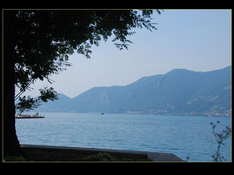 Le lac d'Iseo ou aussi dit Sebino