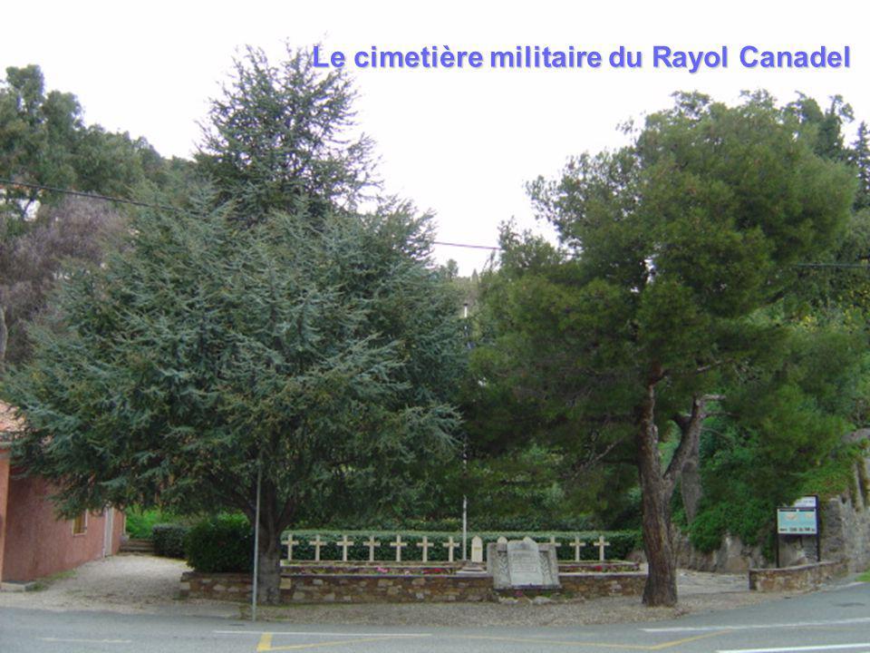 Le cimetière militaire du Rayol Canadel