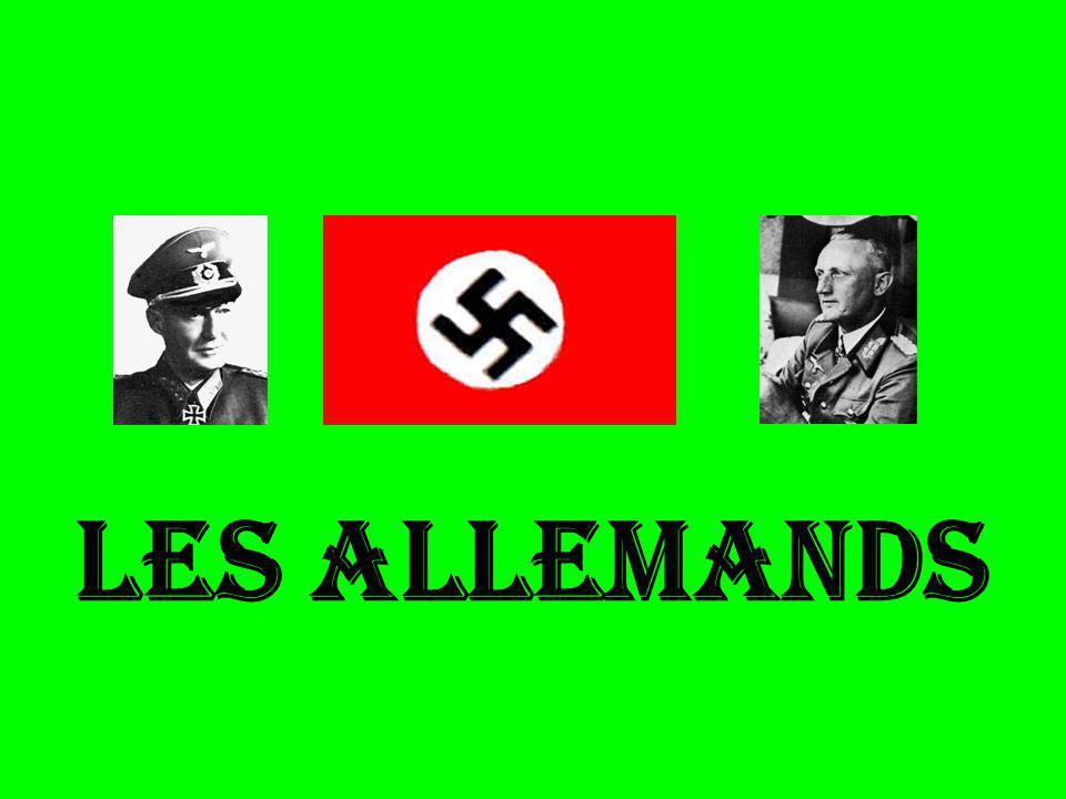 LES ALLEMANDS