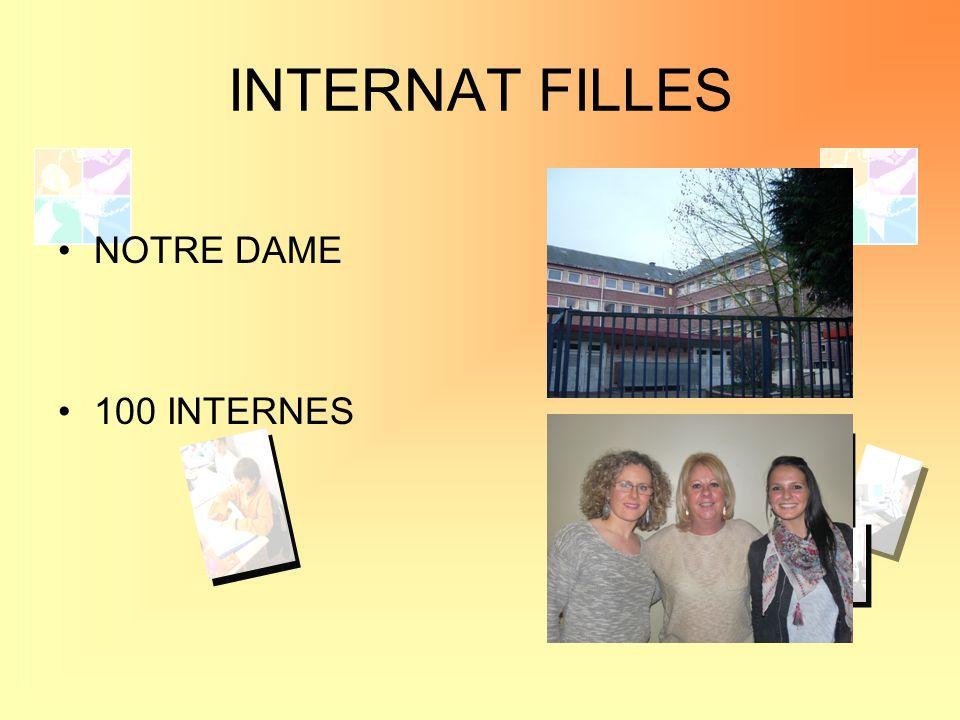 INTERNAT FILLES NOTRE DAME 100 INTERNES