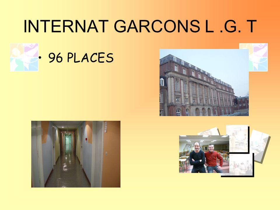 INTERNAT GARCONS L.G. T 96 PLACES