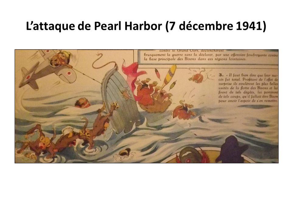 L'attaque de Pearl Harbor (7 décembre 1941)