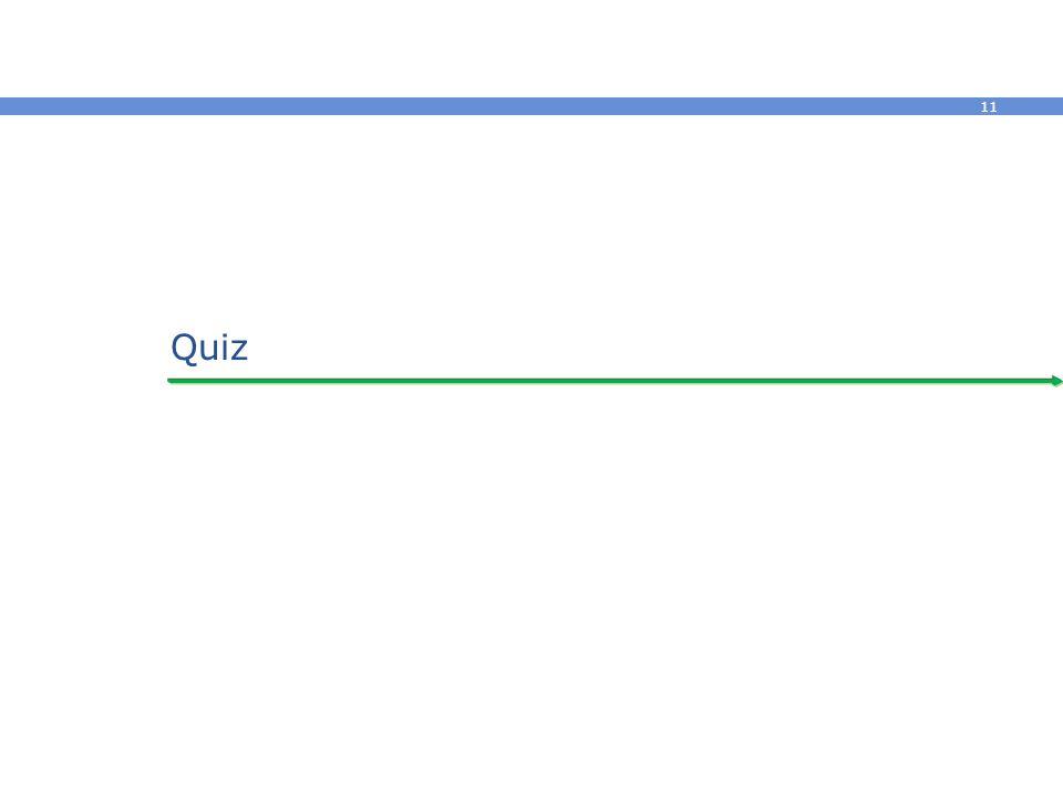11 Quiz