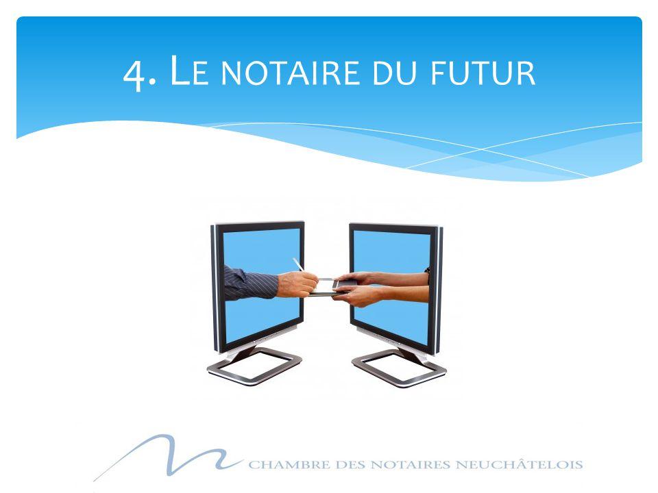4. L E NOTAIRE DU FUTUR