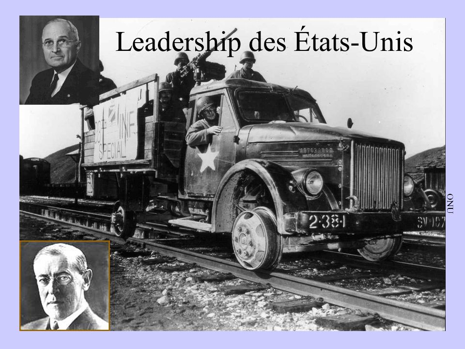 Leadership des É.-U. ONU Leadership des États-Unis