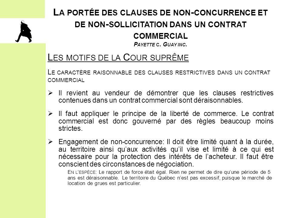 2.LES ÉLÉMENTS CONSTITUTIFS DE L'OBLIGATION D'ACCOMMODEMENT ET LE PROCESSUS II.