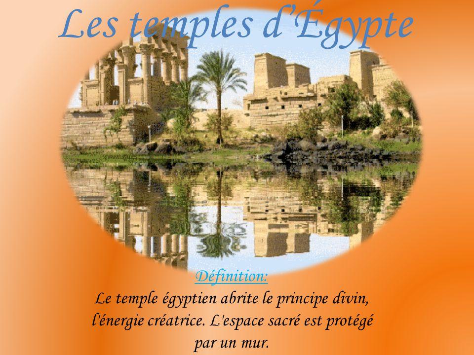Sommaire : Introduction: *À quoi servaient les temples .