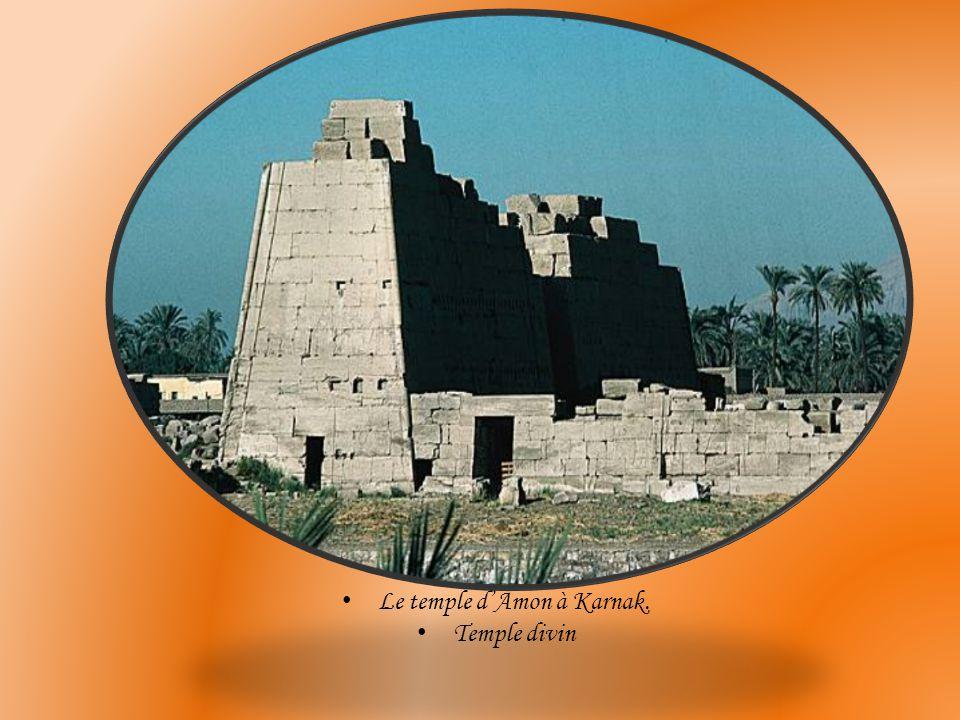 temple de la reine Hatshepsout à Deir El-Bahari temple funéraire