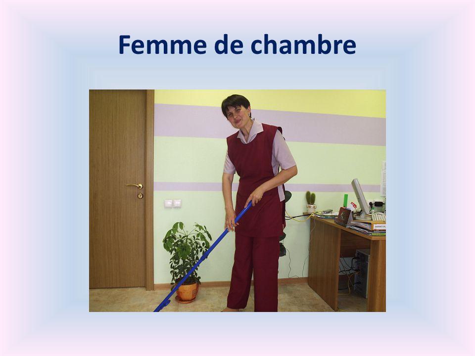 Femme de chambre