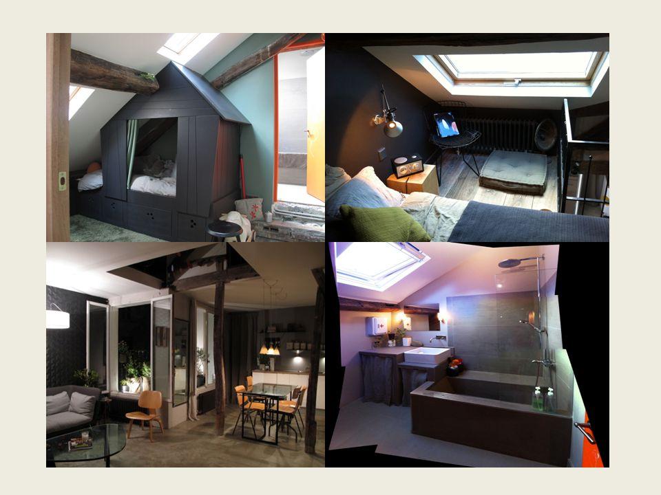 Ambiance / Décoration : La propriétaire est décoratrice d'intérieur, l'appartement est un véritable laboratoire d'ambiance.