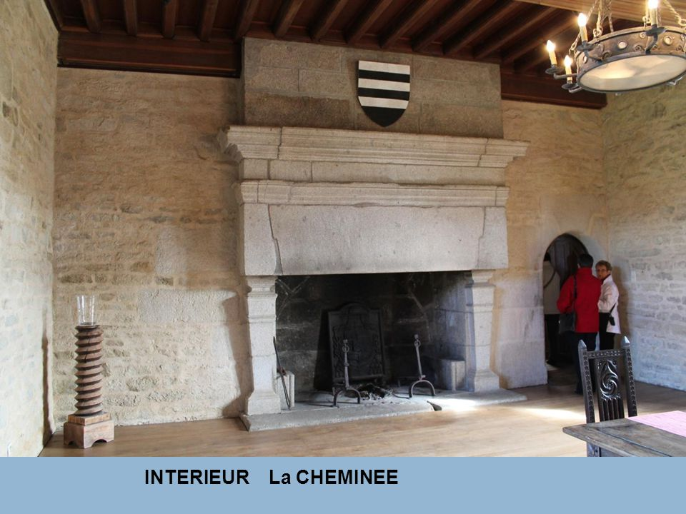 INTERIEUR La CHEMINEE