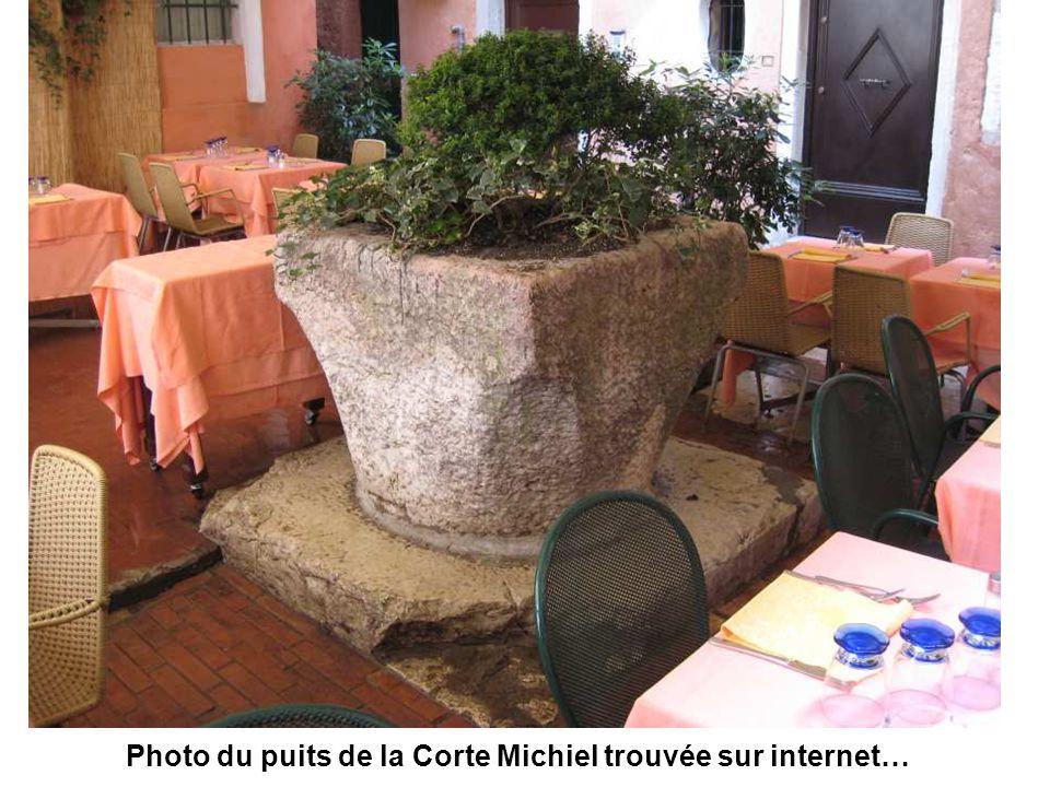 La Cour Michiel sert de salle de restaurant…