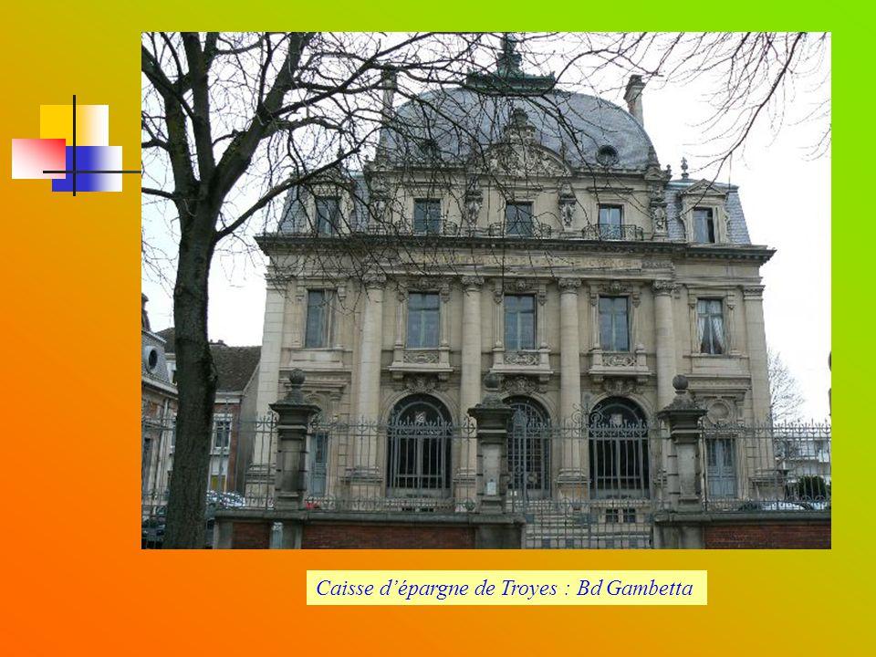 Rue Gambey : reflet de Troyes au milieu du XX ème siècle