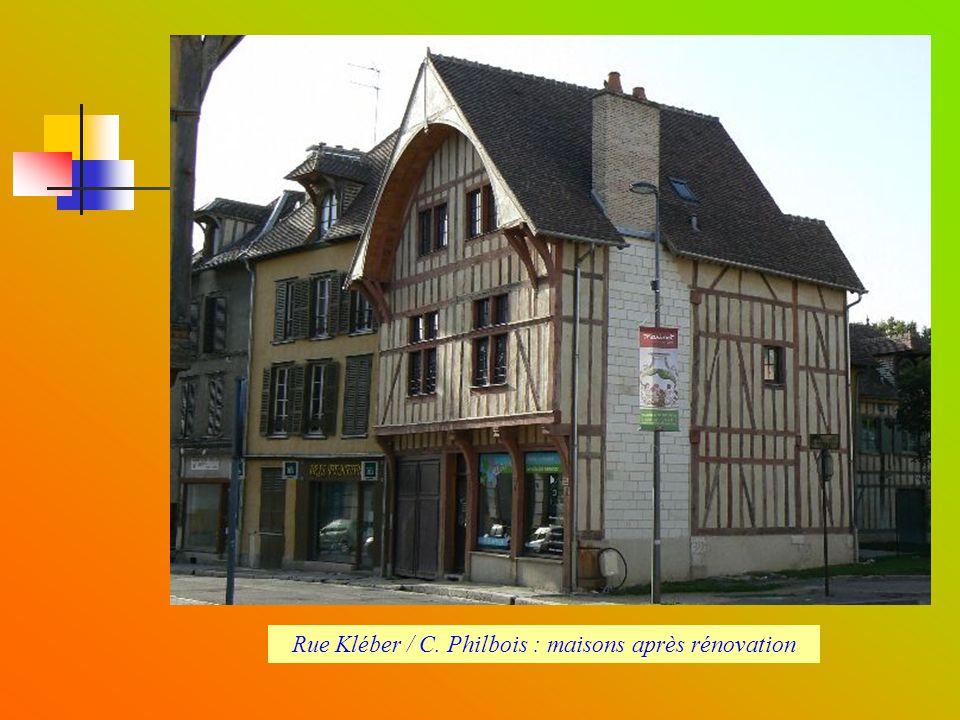 Rue Kléber / C. Philbois, (ossature bois en rénovation)