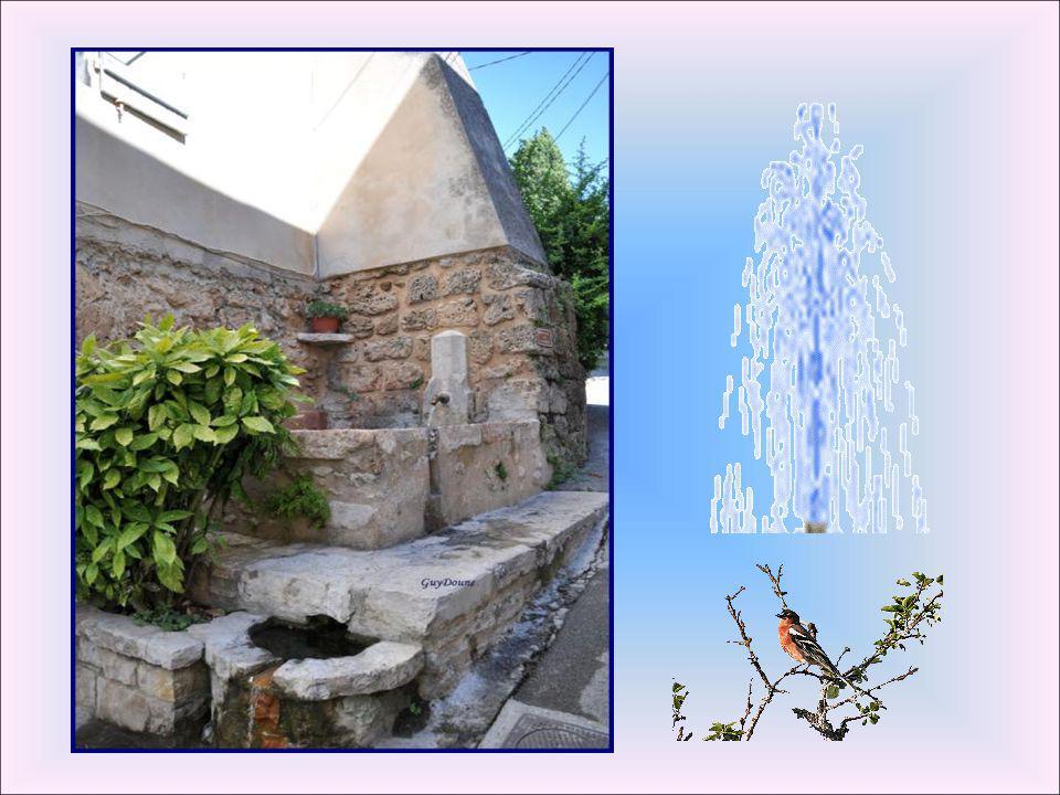 Réalisée en 1844, cette fontaine a été complétée par un lavoir en 1861. L'eau coule par quatre petites têtes de marbre qui représente les saisons. fon