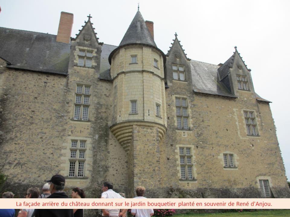 Construit en 1454, ce relais de chasse était une des haltes préférées du Bon Roi René d'Anjou.
