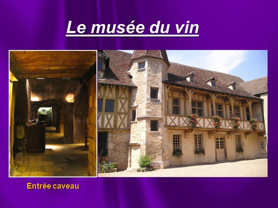 Le musée du vin Entrée caveau