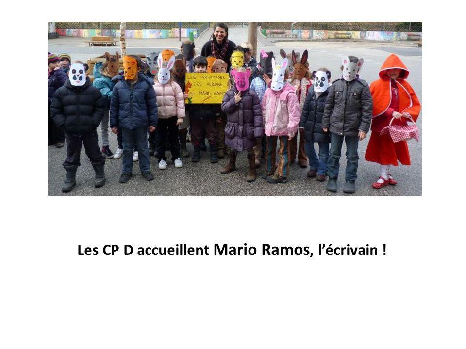 Les CP D accueillent Mario Ramos, l'écrivain !