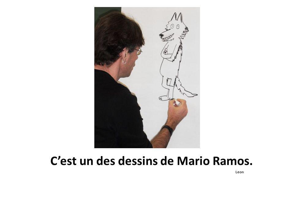 C'est un des dessins de Mario Ramos. Leon
