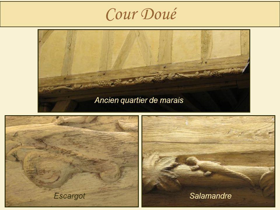 Cour Doué EscargotSalamandre Ancien quartier de marais