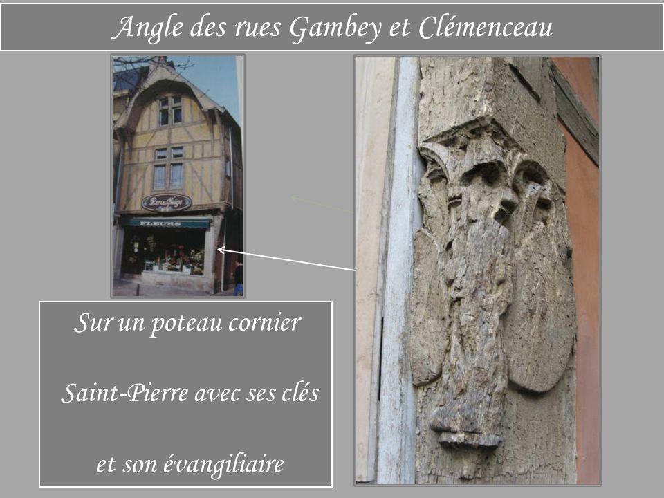 Rue Georges Clémenceau Ancien collège de la Licorne