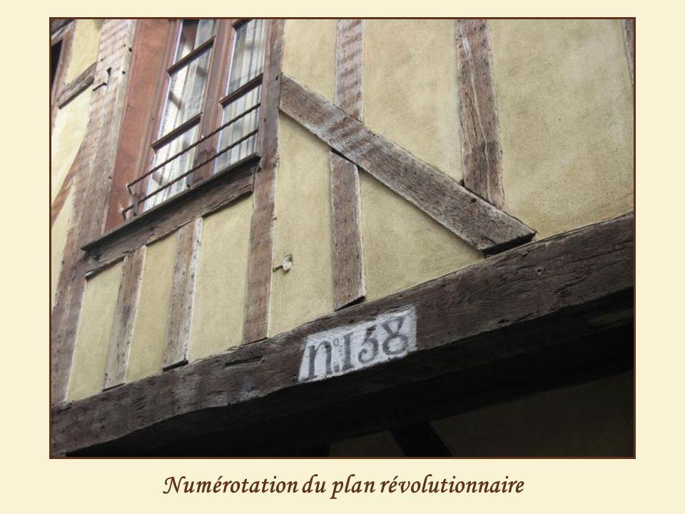 Numérotation du plan révolutionnaire