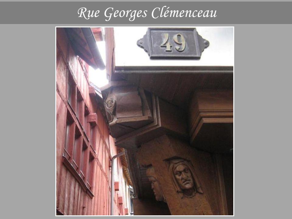 Rue Georges Clémenceau