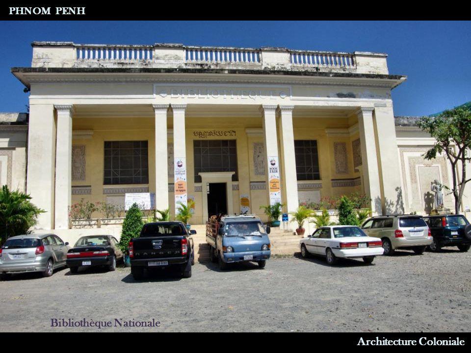 Architecture Coloniale Immeuble d Habitation PHNOM PENH
