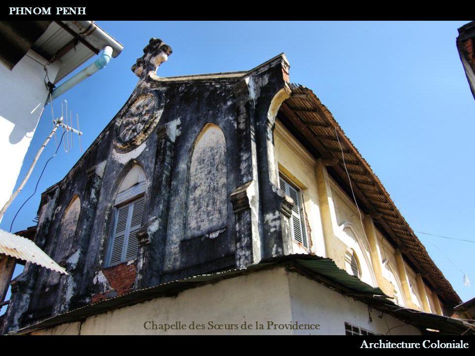 Architecture Coloniale Hôtel Manolis PHNOM PENH