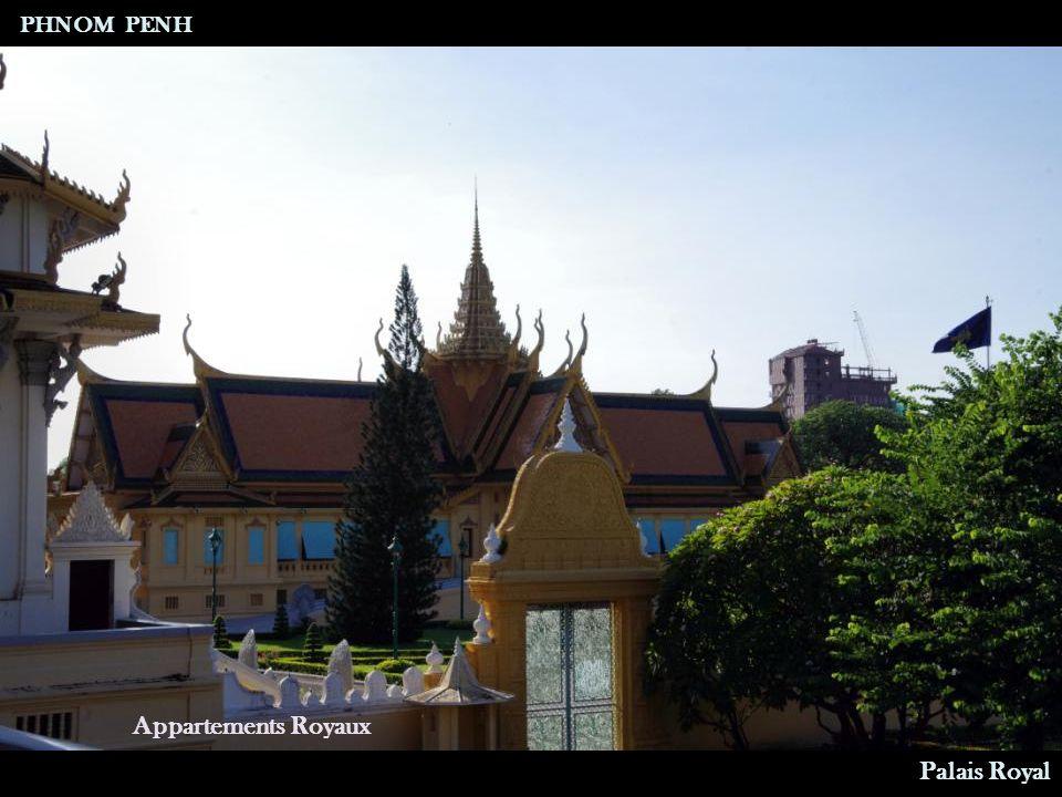 Salle du trône PHNOM PENH Palais Royal