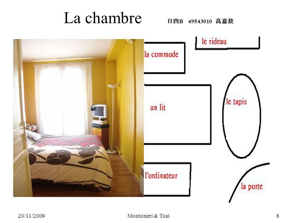 20/11/2009Montoneri & Tsai7 Exemples: 1.« Chercher un/e ami/e