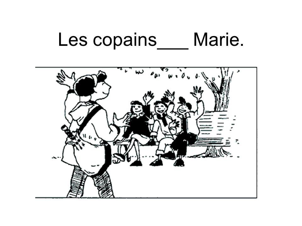 Les copains___ Marie.