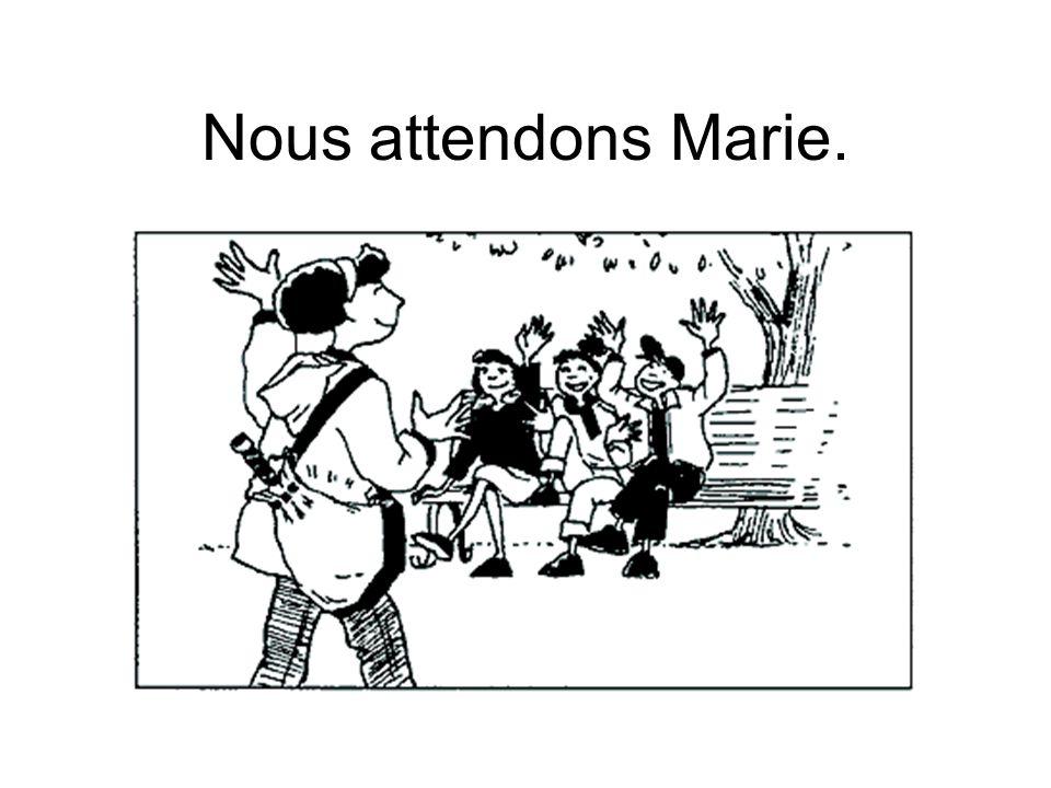 À Mr Coté: Wait for me!