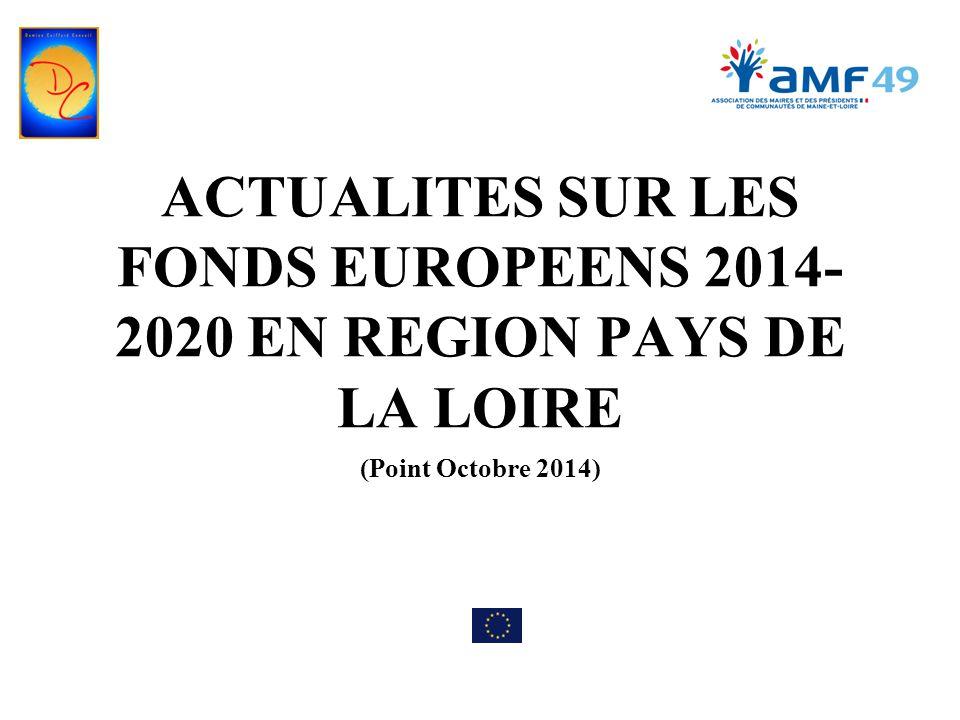 LES FONDS 2014-2020 4/ Politique sociale en Pays de la Loire Instrument financier au titre du FSE : 185,4 millions d'euros pour notre région 2 autorités de région: PO Etat « emploi-inclusion (108,7 millions €), PO Région « formation » (76,7 millions €) Deux volets : Un volet national (Préfecture de région) va mettre l'accent sur l'accès à l''emploi pour les demandeurs d'emploi (DE), l'intégration durable sur le marché du travail des jeunes qui ne travaillent pas, ne font pas d'étude ou ne suivent pas de formation ; la réduction de l'abandon scolaire précoce Un volet régional (Conseil Régional) mettant l'accent sur la sécurisation des parcours professionnels les plus fragiles, le développement du service public régional de l'orientation, la poursuite dans l'enseignement supérieur.
