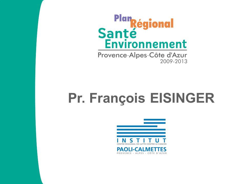 PRSE PACA 2009-2013 CSP Connaissance Marseille 20/05/11 Le réseau Santé Environnement www.prse-paca.fr