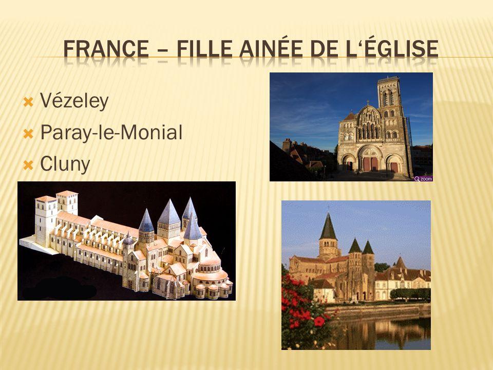  Vézeley  Paray-le-Monial  Cluny