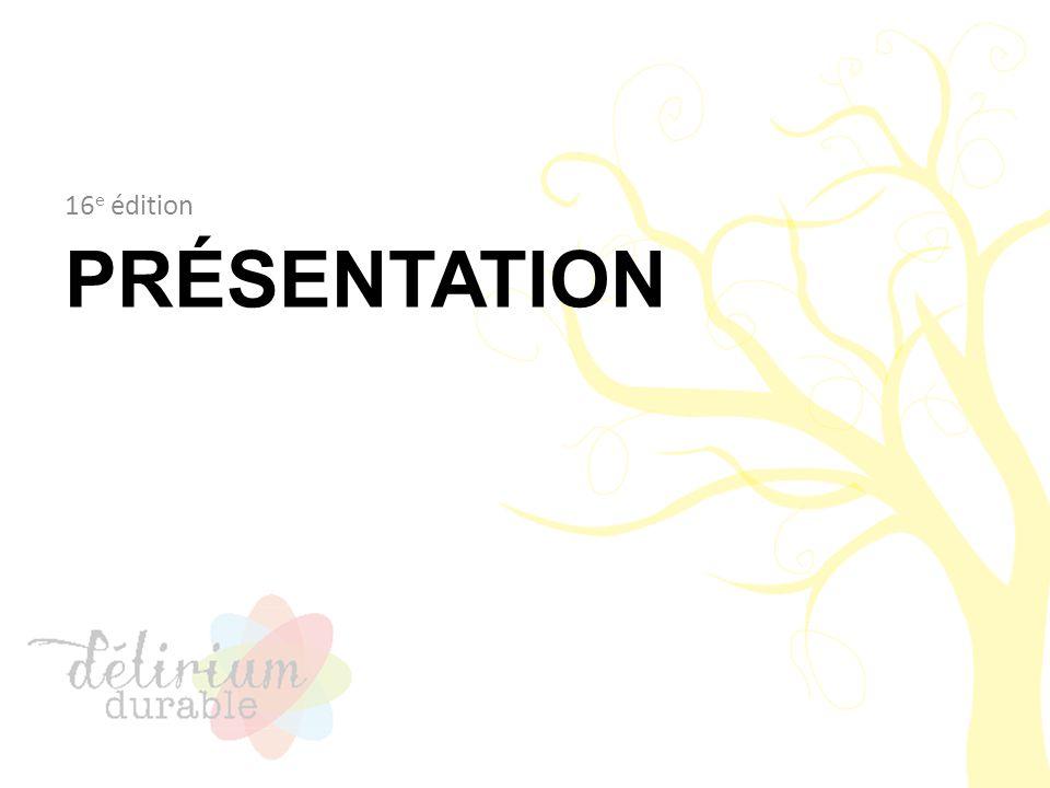 Concours 16 e édition Ouvert à tous les étudiants du collégial Les étudiants ont fait : – un travail de session ou – un projet personnel