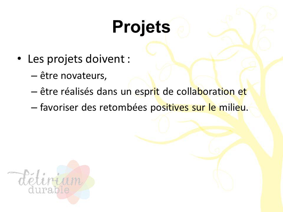 Projets Réalisés, en cours de réalisation ou non réalisés Évalués sur la faisabilité et le réalisme des effets positifs sur la société et l'environnement, dans le contexte exposé