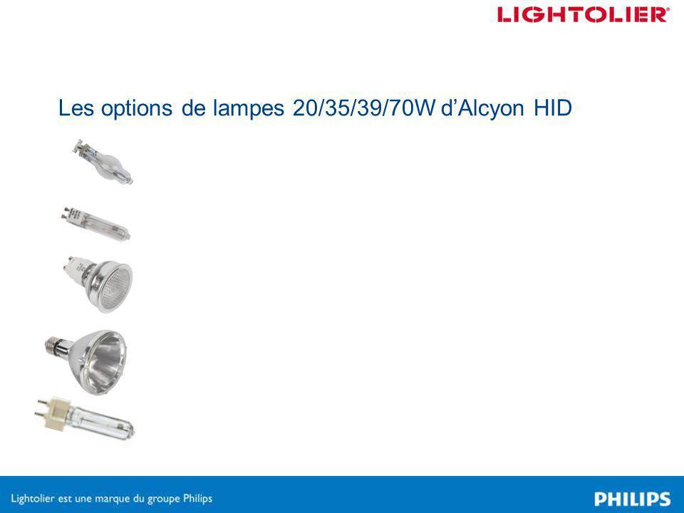 Luminaires disponibles Step Spots T4 20/39W BT5 20/35W MR 20/39W T6 39/70W PAR30 20/39/70W Cylinders T4 20/39W BT5 20/35W MR 20/39W Floods T4 20/39W BT5 20/35W T6 39/70W 23S20T4AL23F20T4AL23C20MRBK